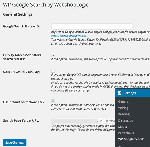 wpgooglesearch-settings