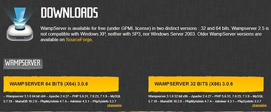 downloadwamp