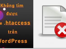 Tại sao không thể tìm thấy tệp .htaccess trên trang web WordPress của mình